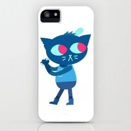 Night in the Woods Mae baseball bat iPhone Case