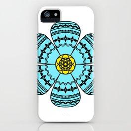 Hippie Geometric Flower iPhone Case