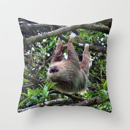 Sloth_006_by_JAMFoto Throw Pillow