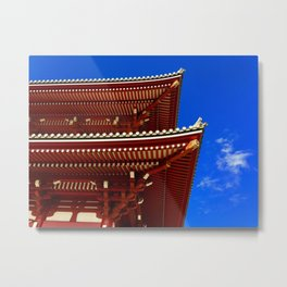 silence between the sky Metal Print