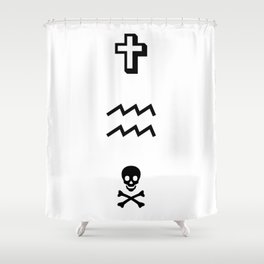 WAVEZ Shower Curtain