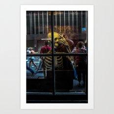 Jekyll & Hyde Club Window Art Print