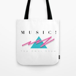 MUSIC EXCLAMATION POINT Tote Bag