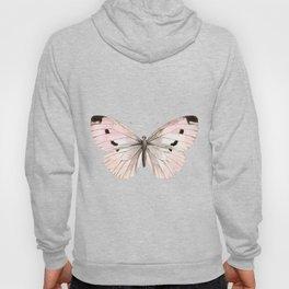 Butterfly flutter - soft peach Hoody