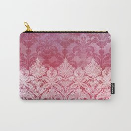 ABERDEEN HEIRLOOM, LACE & DAMASK: REBECCA'S RED Carry-All Pouch