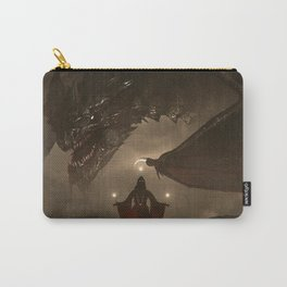 One Who Knows No Mercy Carry-All Pouch