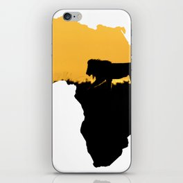 Africa Lion iPhone Skin