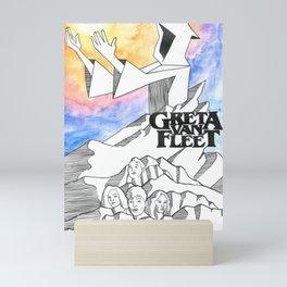 Greta Van Fleet Fan Art Mini Art Print