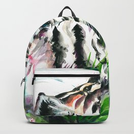 WHITE TIGER WATERCOLOR Backpack