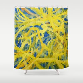 Telos3 Shower Curtain