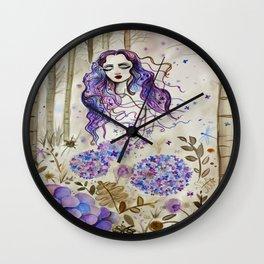 Ortensia Wall Clock