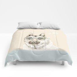 Diver Dog Comforters