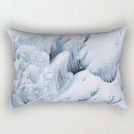 Ice Flow Rectangular Pillow