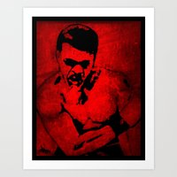 ali Art Prints featuring Ali by 6-4-3