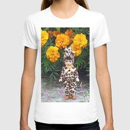 Little Leopard Girl T-shirt