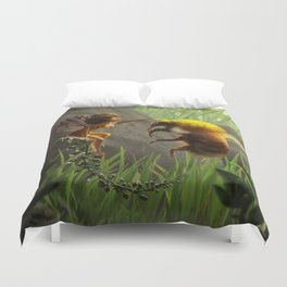 Faerie and Bee Duvet Cover