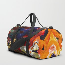 Colorful Abstract Duffle Bag