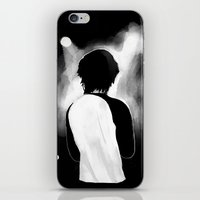 louis tomlinson iPhone & iPod Skins featuring WWA Louis Tomlinson by crystaltaysm