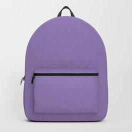 Plain Solid Color Soft Violet Backpack