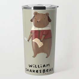 William Shakesbear Travel Mug