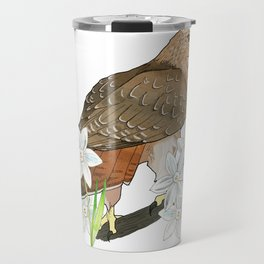 Sagittarius Hawk Travel Mug