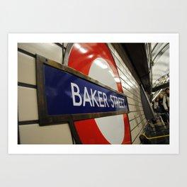 Baker Street Station Art Print