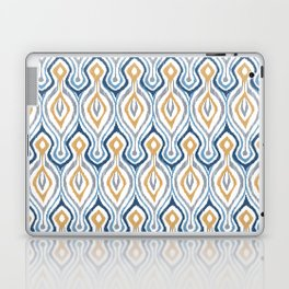 Sketchy Ikat - Saddle Laptop & iPad Skin