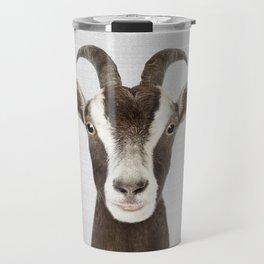 Goat - Colorful Travel Mug