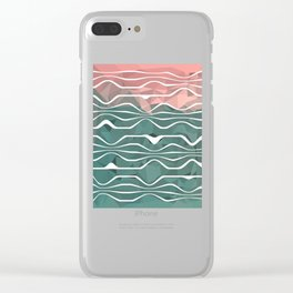 In Between #1 #society6 #art Clear iPhone Case