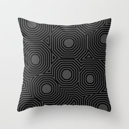 Odd Dotts Throw Pillow
