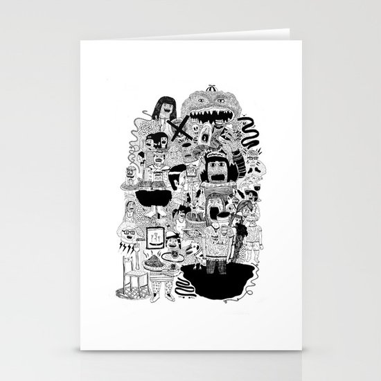 KIDS DOOM Stationery Cards