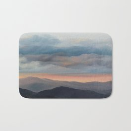 Sunset on the Blue Ridge Parkway Bath Mat