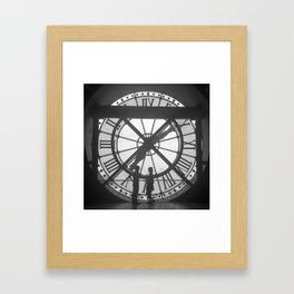 L'heure de L'Amour Framed Art Print