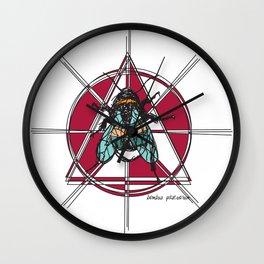 Bombus Pascuorum Wall Clock
