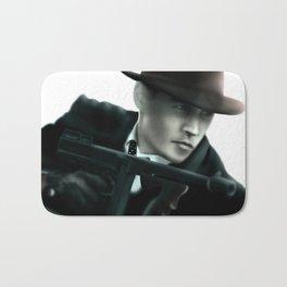Johnny Depp// John Dillinger Bath Mat
