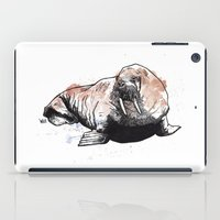 walrus iPad Cases featuring Walrus by ZOO (William Redgrove)