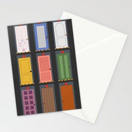 Scary Doors Stationery Cards