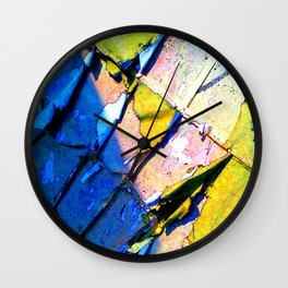 A Peeling Shadow Wall Clock