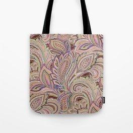 paisley fall Tote Bag
