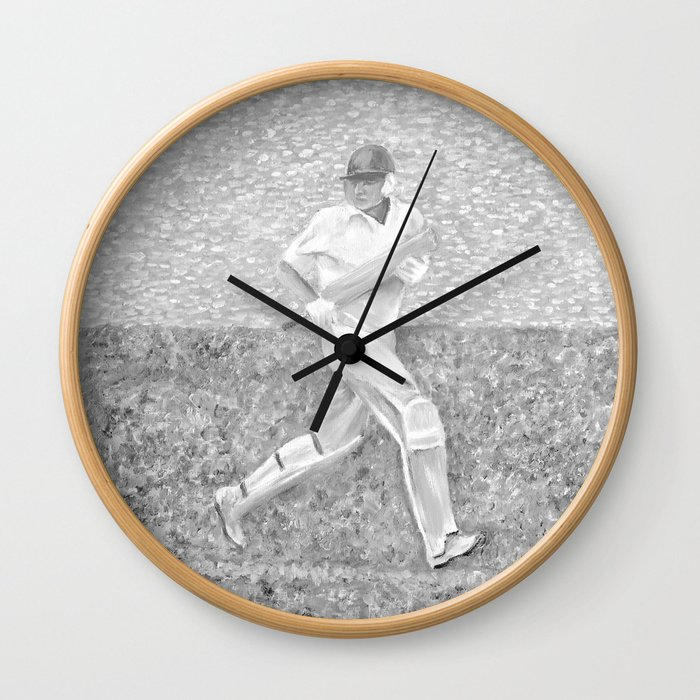 The Batsman II Wall Clock