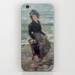 Paddle Petermannchen - Lovis Corinth iPhone Skin