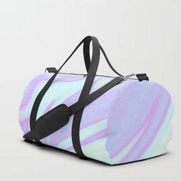 Unicorn Goo Liquid Holographic Texture Duffle Bag