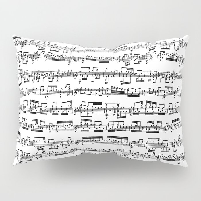 Sheet Music Pillow Sham