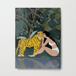 you're my dearest and wildest friend Metal Print