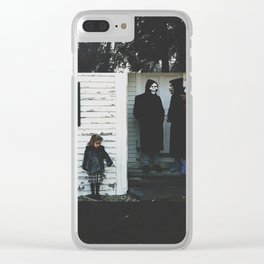 Brand New Band Edit Clear iPhone Case