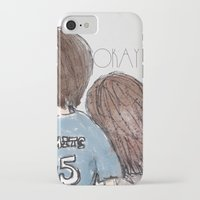 the fault in our stars iPhone & iPod Cases featuring The Fault in Our Stars by Natasha Ramon