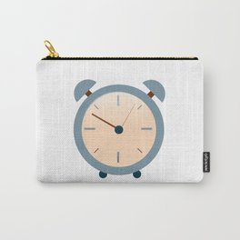 Vintage Clock Carry-All Pouch