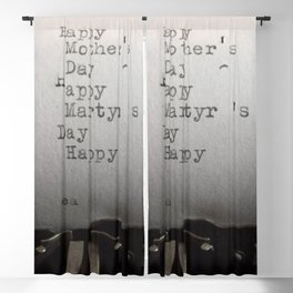Happy Martyr's Day Blackout Curtain