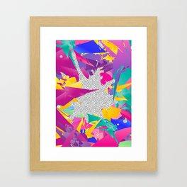 80s Abstract Framed Art Print