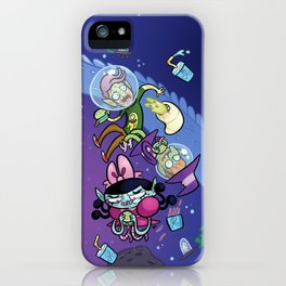 Luna the Vampire - Snack time! iPhone Case